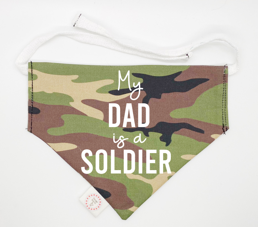 My Dad is a Soldier Bandana