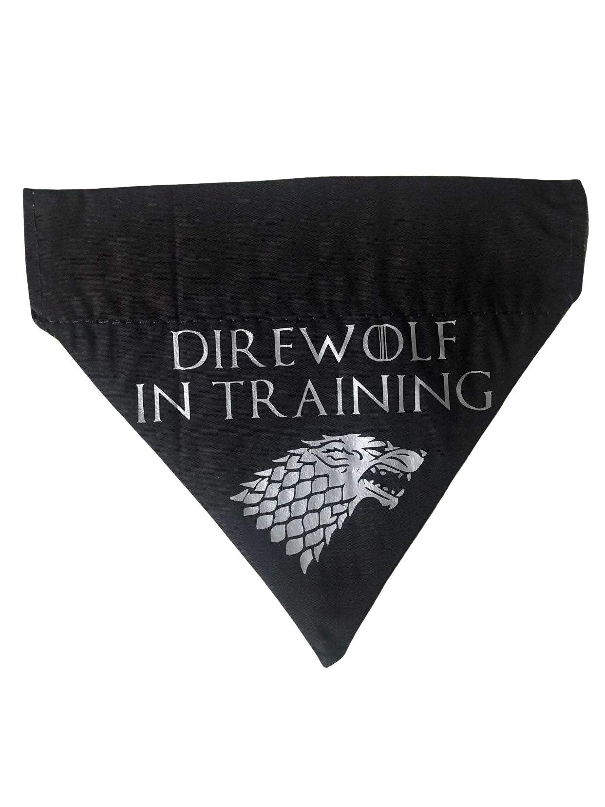 Game of Thrones - Direwolf in Training Bandana