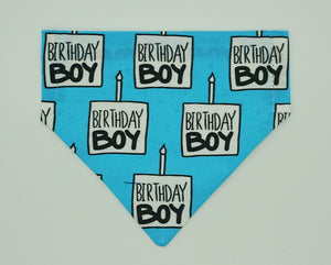 Birthday Boy Reversible Bandana