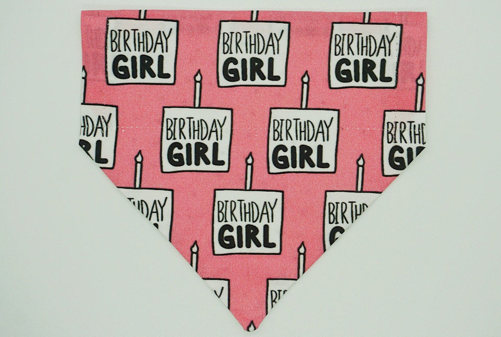 Birthday Girl Reversible Bandana