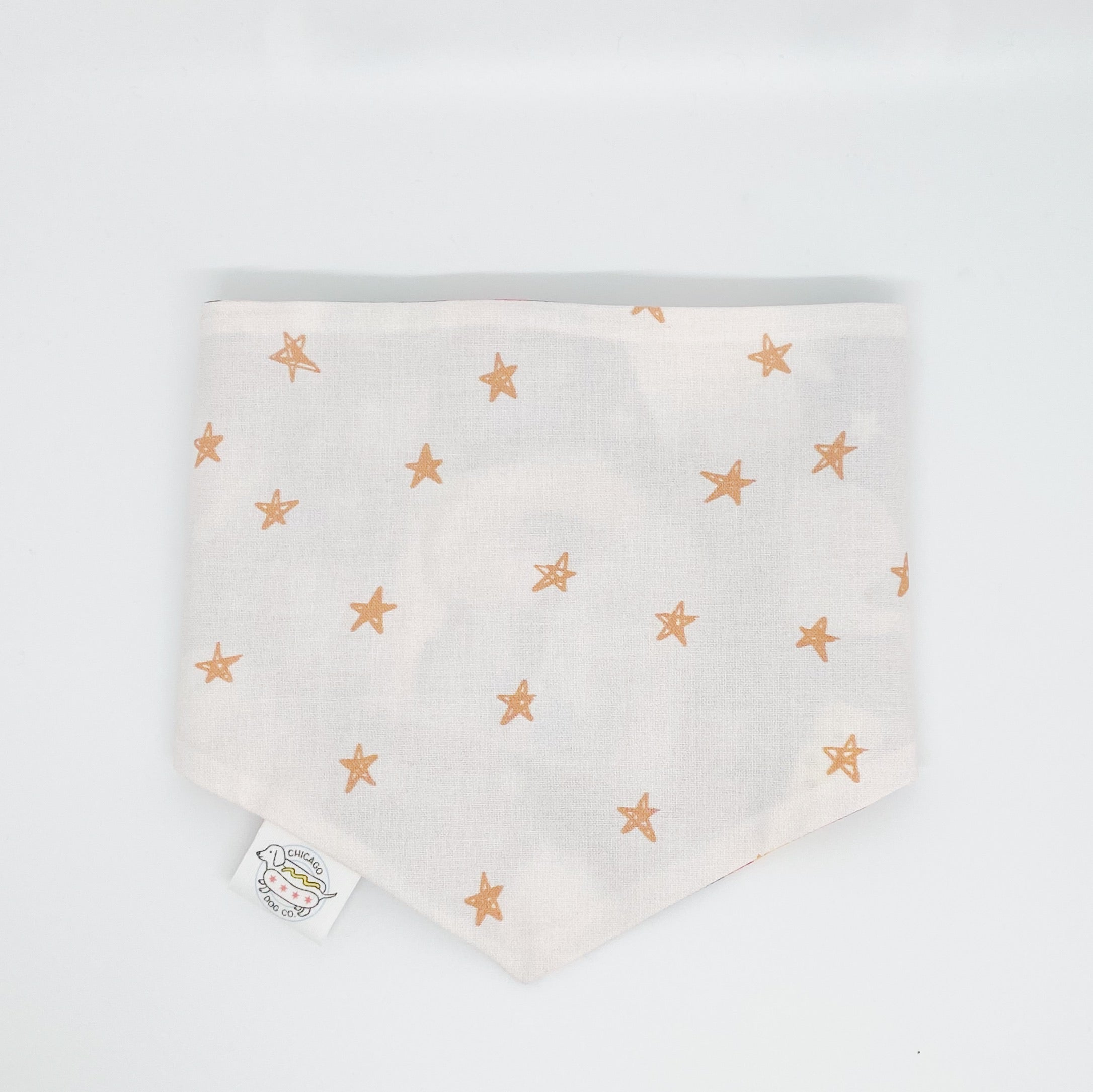 Nativity and Gold Stars Reversible Bandana