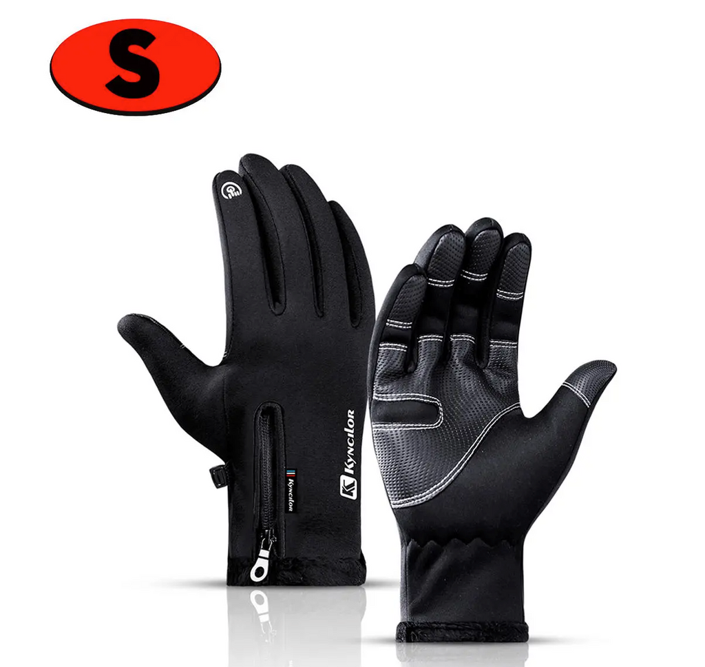 KynCilor Edition Warm Winter Waterproof Sports Touch Screen Motorcycle Gloves