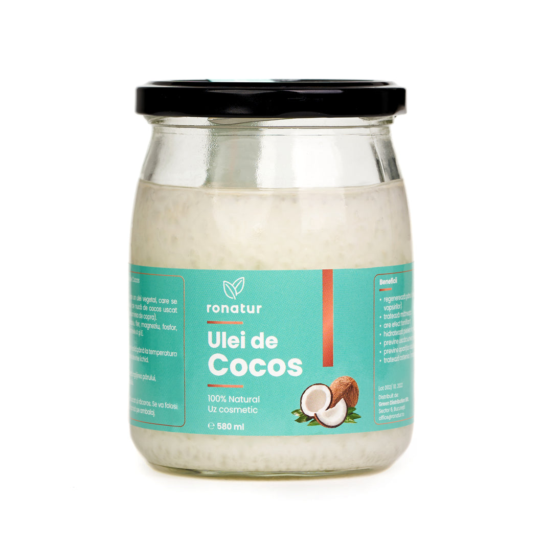 Ulei de Cocos Ronatur, Cosmetic 580 ml