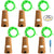 6 Pcs Cork Lights with Screwdriver, AFUNTA Bottle Lights Fairy String LED Lights, 30 Inches Copper Wire 15 LED Bulbs for Party Wedding Concert Festival Christmas Tree Decoration -Green