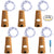 6 Pcs Cork Lights with Screwdriver, AFUNTA Bottle Lights Fairy String LED Lights, 78 Inches / 2 m Copper Wire 20 LED Bulbs for Party Wedding Concert Festival Christmas Tree Decoration-Cool White