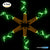 6 Pcs Cork Lights with Screwdriver, AFUNTA Bottle Lights Fairy String LED Lights, 78 Inches / 2 m Copper Wire 20 LED Bulbs for Party Wedding Concert Festival Christmas Tree Decoration-green