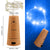 6 Pcs Cork Lights with Screwdriver, AFUNTA Bottle Lights Fairy String LED Lights, 78 Inches / 2 m Copper Wire 20 LED Bulbs for Party Wedding Concert Festival Christmas Tree Decoration-blue