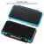 Hard Case for NEW Nintendo 2DS XL with 2 Packs Screen Protector, AFUNTA Anti-Scratch Crystal Clear Case, with 4 Pcs Tempered Glass Protective Films for Top and Bottom Screen