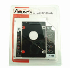 Afunta&reg NEW SATA 2nd HDD caddy for 12.7mm Universal CD/DVD-ROM