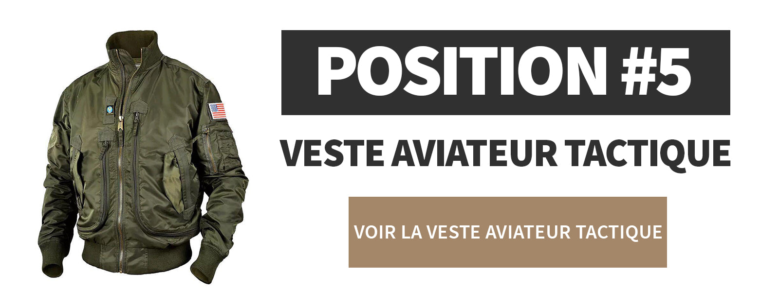 Veste Aviateur Tactique
