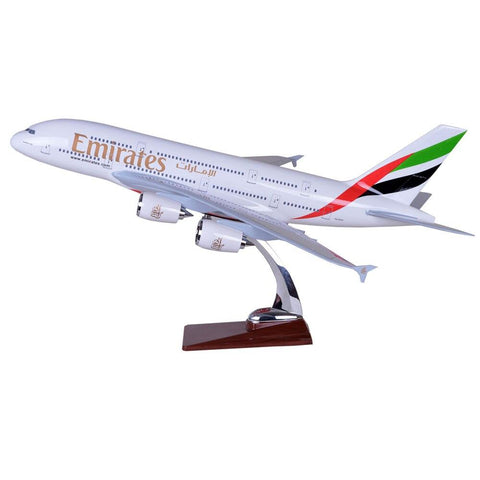 Maquette Avion Air Bus A380 Emirates Airlines