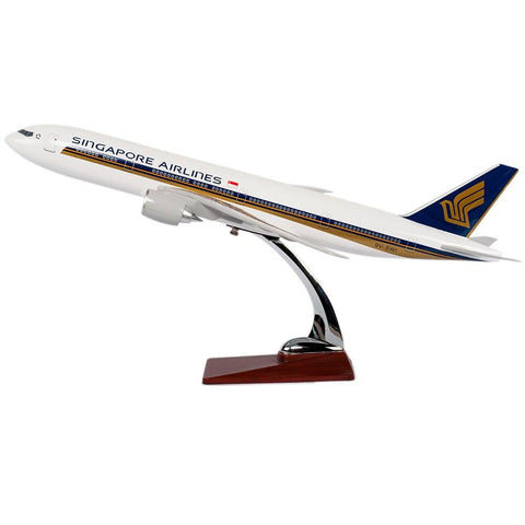 Maquette Avion Boeing B777 Singapore Airlines