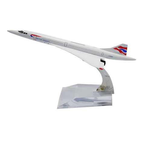 Maquette Avion Concorde British Airways