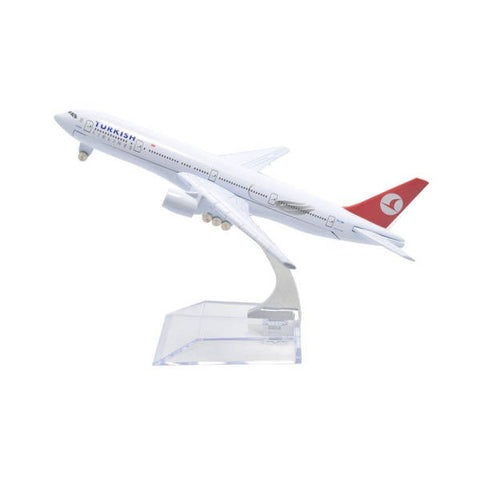 Maquette Avion Turkish Airlines Boeing B777