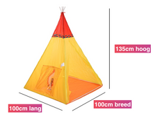 Afbeelding in Gallery-weergave laden, Kinder-speeltent - model Tipi