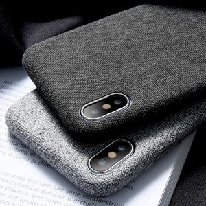 Apple iPhone Case Textiel
