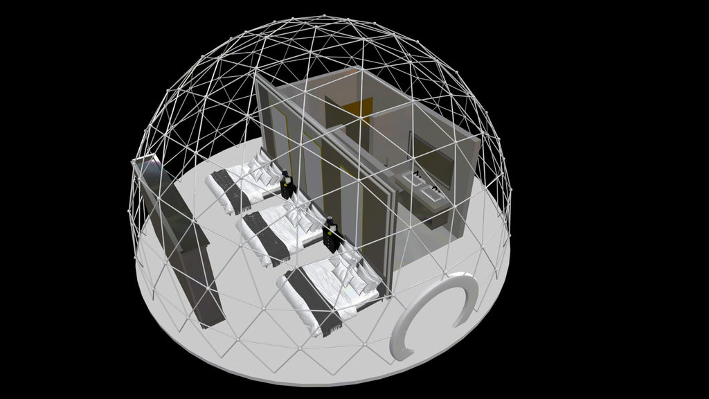 32ft dome plan