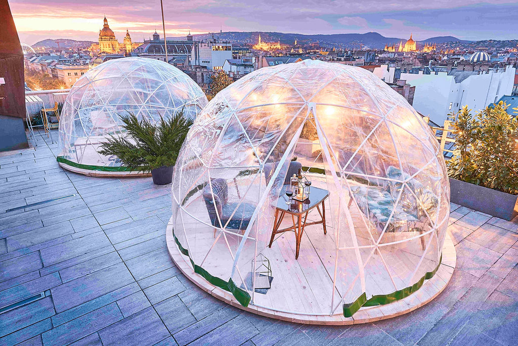 igloo bubble dome for restaurant guests