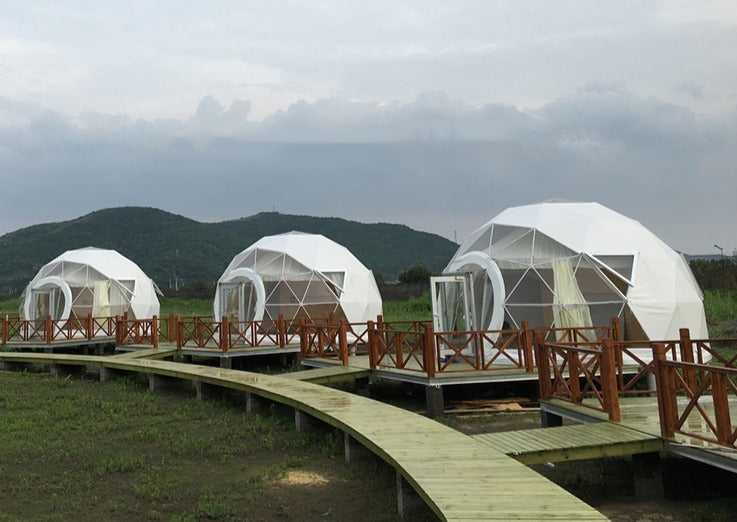 Extended Panoramic Window - Glamping Dome Store
