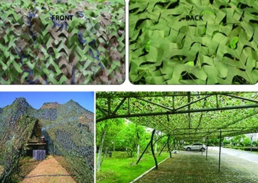 Shading Camouflage Net - Glamping Dome Store