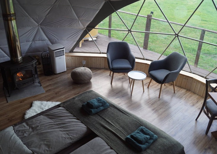 Indoor flooring - Glamping Dome Store