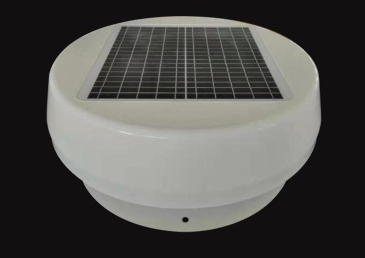Solar Power Air Circulation Fan - Glamping Dome Store