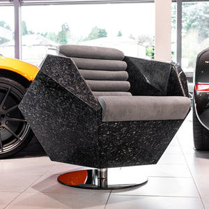 HEDRON Lounge Chair - Carbon Edition - 1 of 55