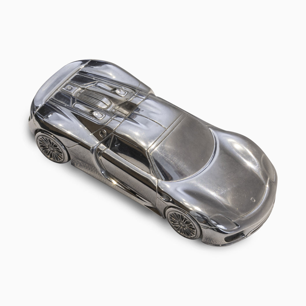 Porsche 918 Spyder Die Cast Paperweight - Limited Edition