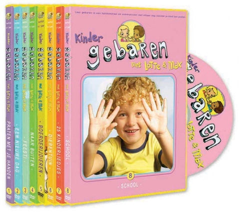 Lotte en Max - DVD sets - 3, 5 of 8 samen