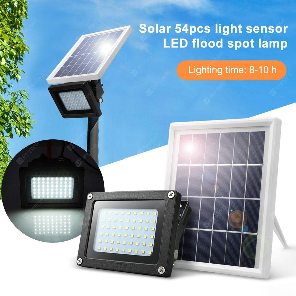 SMD 54 led solar flood light