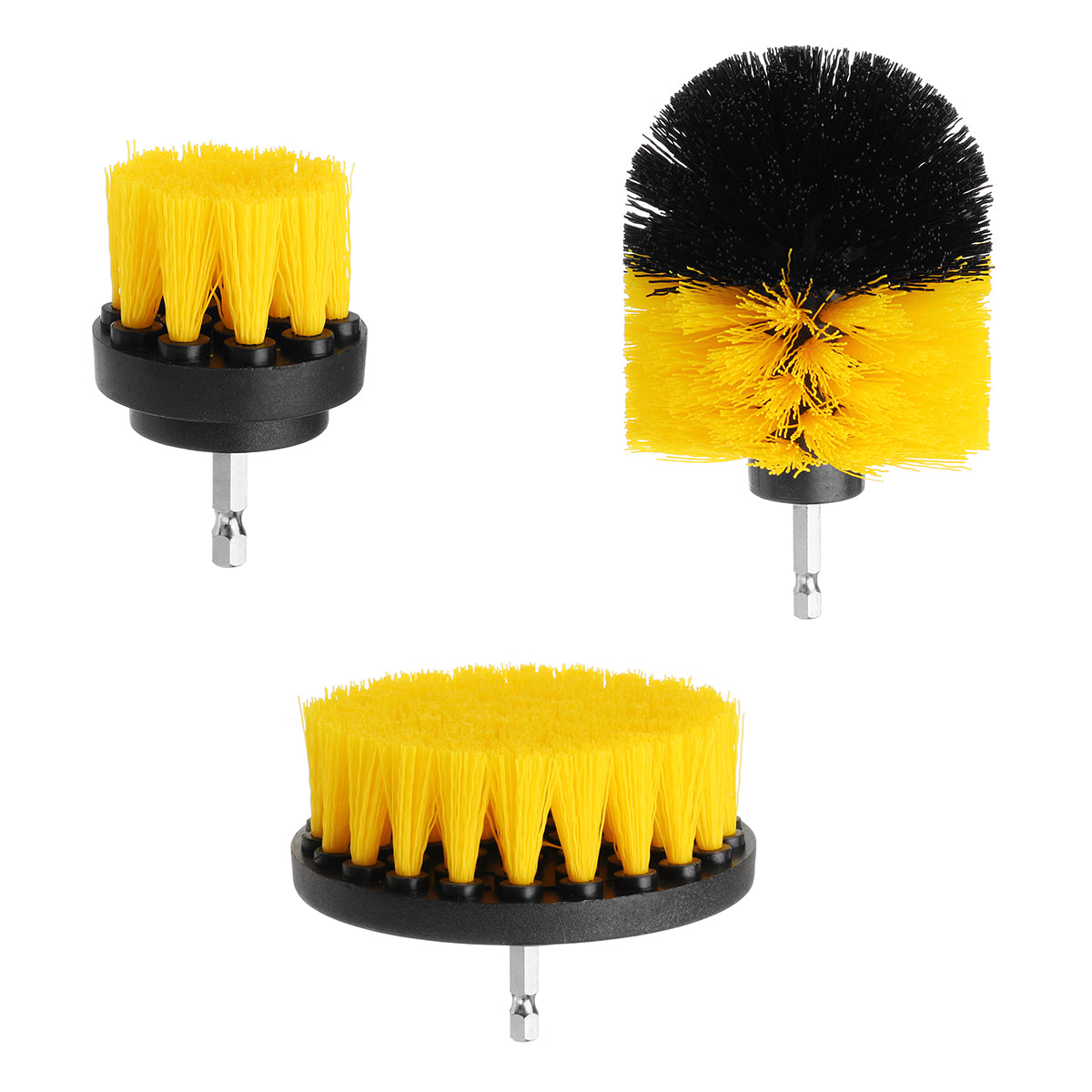 Power Scrubber Cleaning Brush- 3Pcs