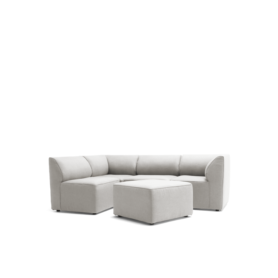 Orahh 5pc Sectional