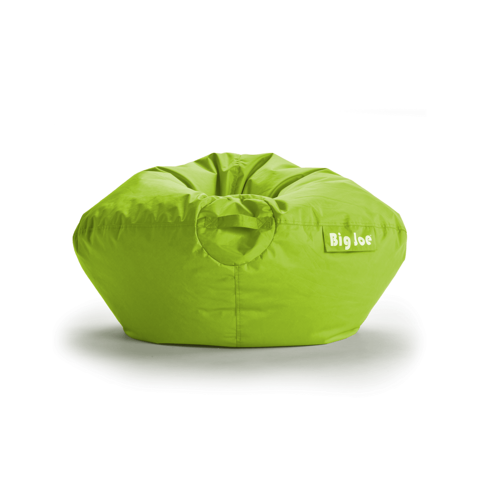 Spicy Lime Classic 98 Kids Bean Bag Front View 0641185