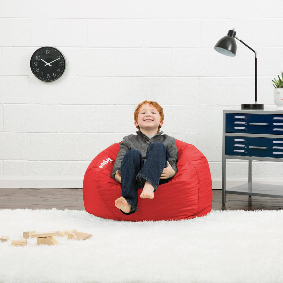 Fire Engine Red Classic 98 Kids Bean Bag with Model 0641613