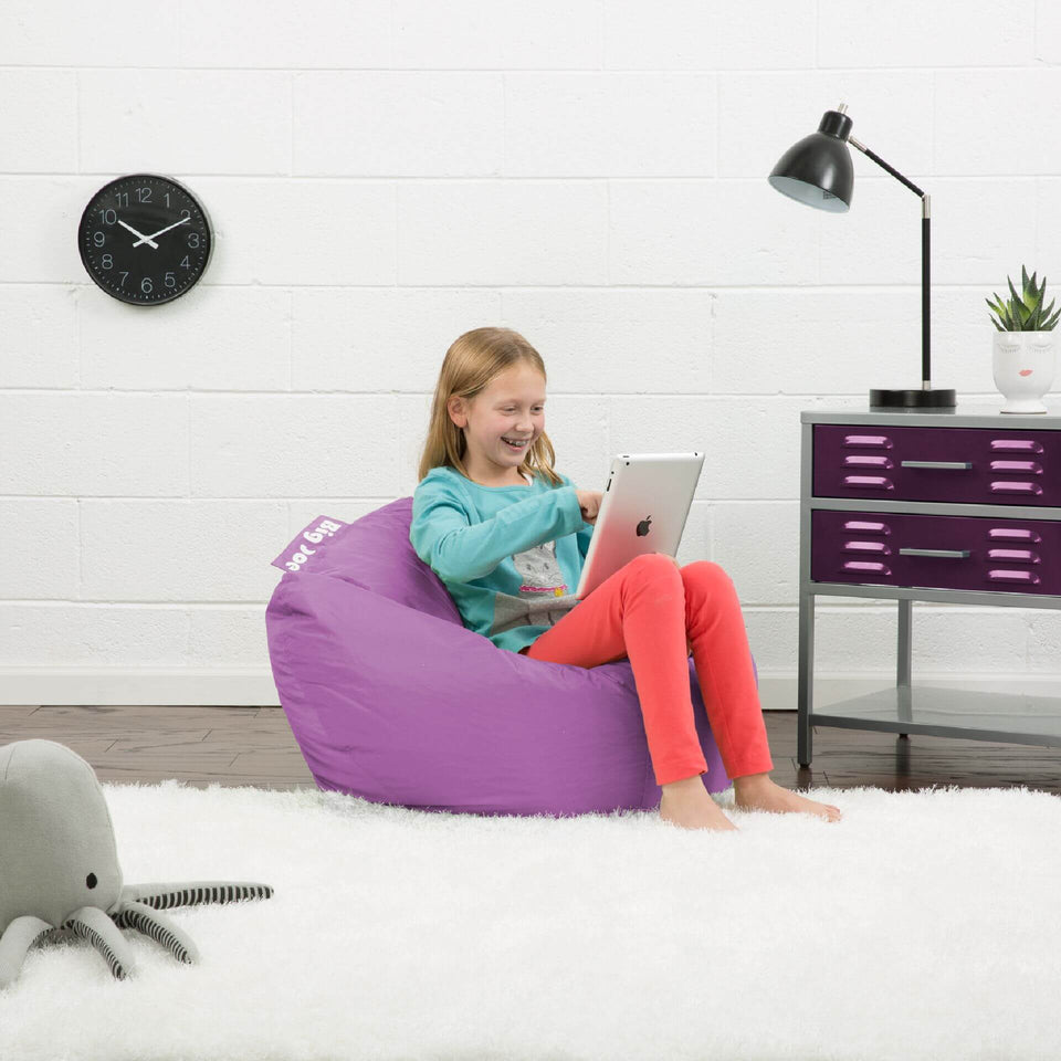 Radiant Orchid Classic 98 Kids Bean Bag with Model 0641624