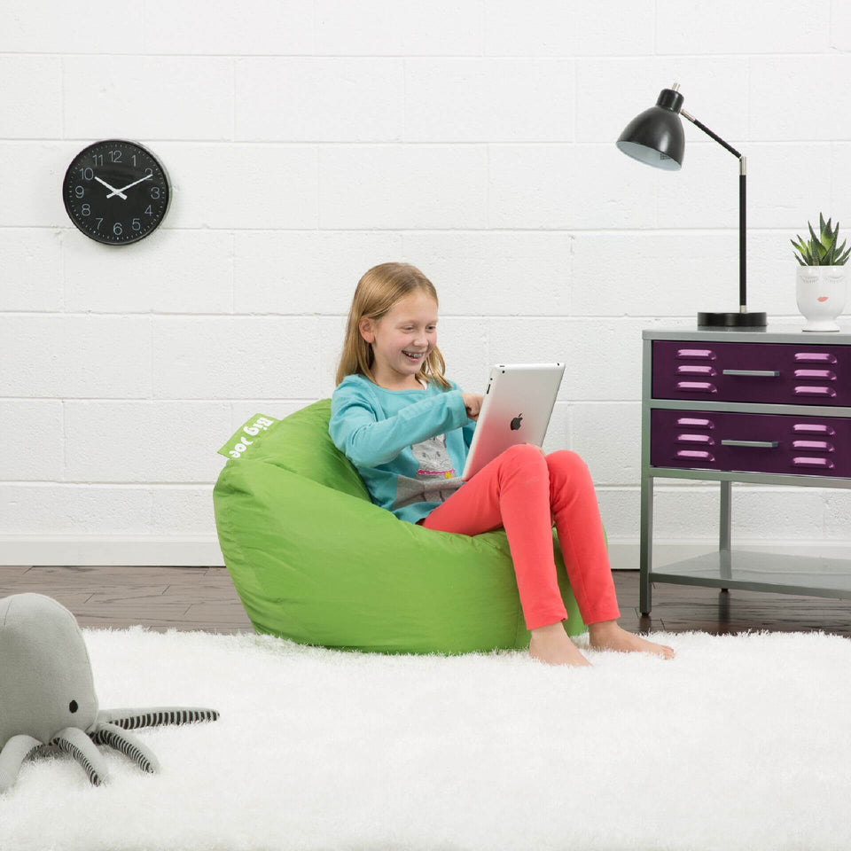 Spicy Lime Classic 98 Kids Bean Bag with Model 0641185