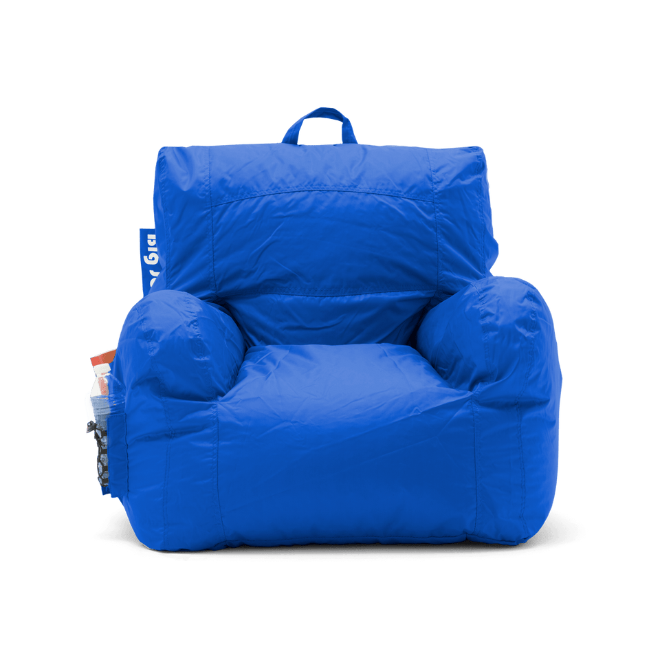 Sapphire Dorm Chair Bean Bag Front View 0645614