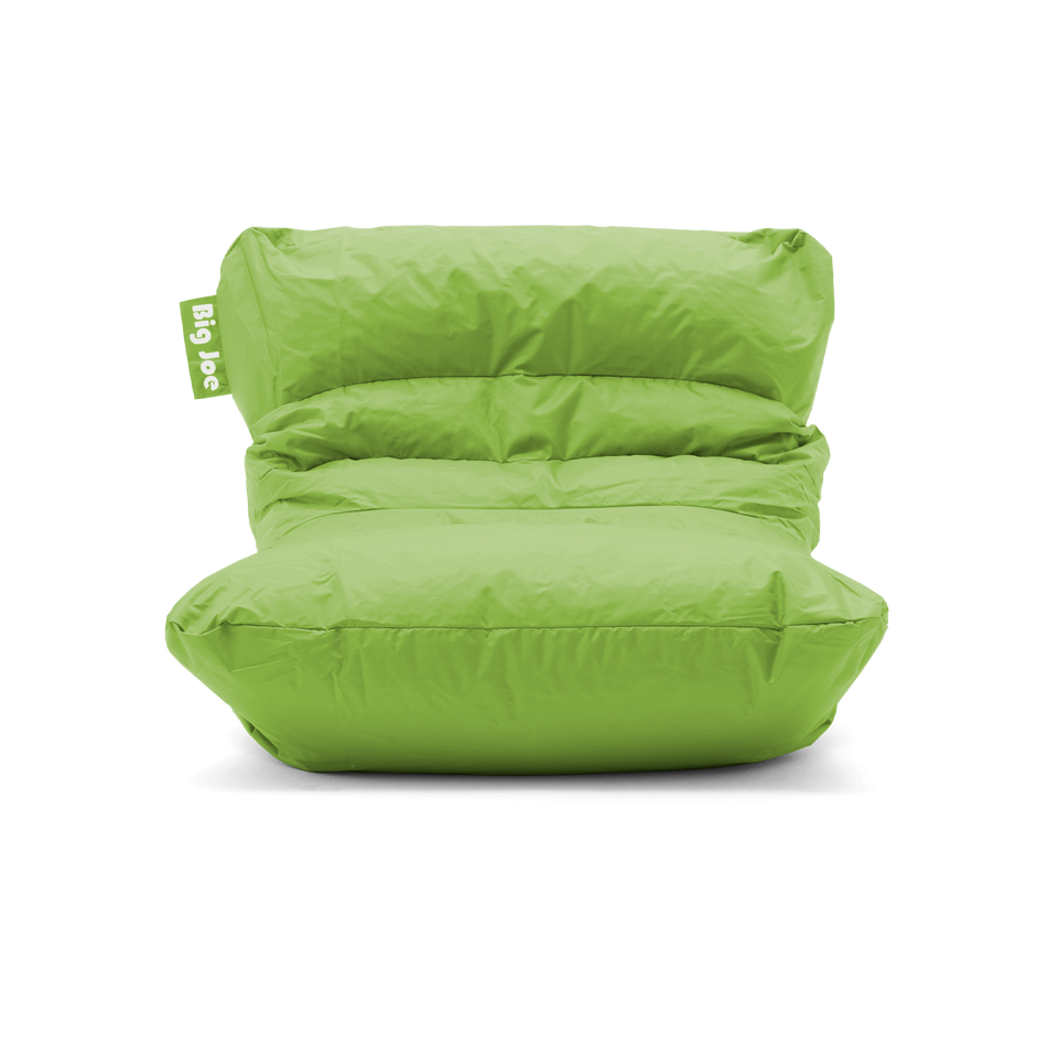 Spicy Lime Roma Bean Bag Chair Front View 0657185