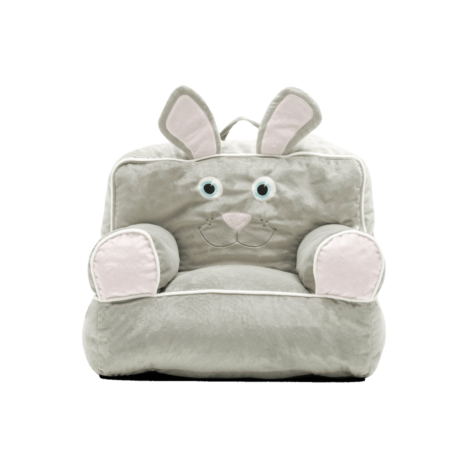 0887674 Bunny Bagimal Kids Bean Bag Chair Front View