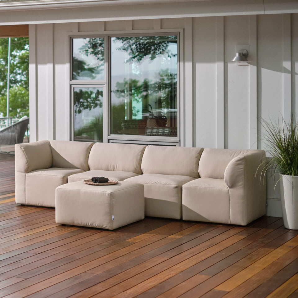 Patio 5pc Sectional