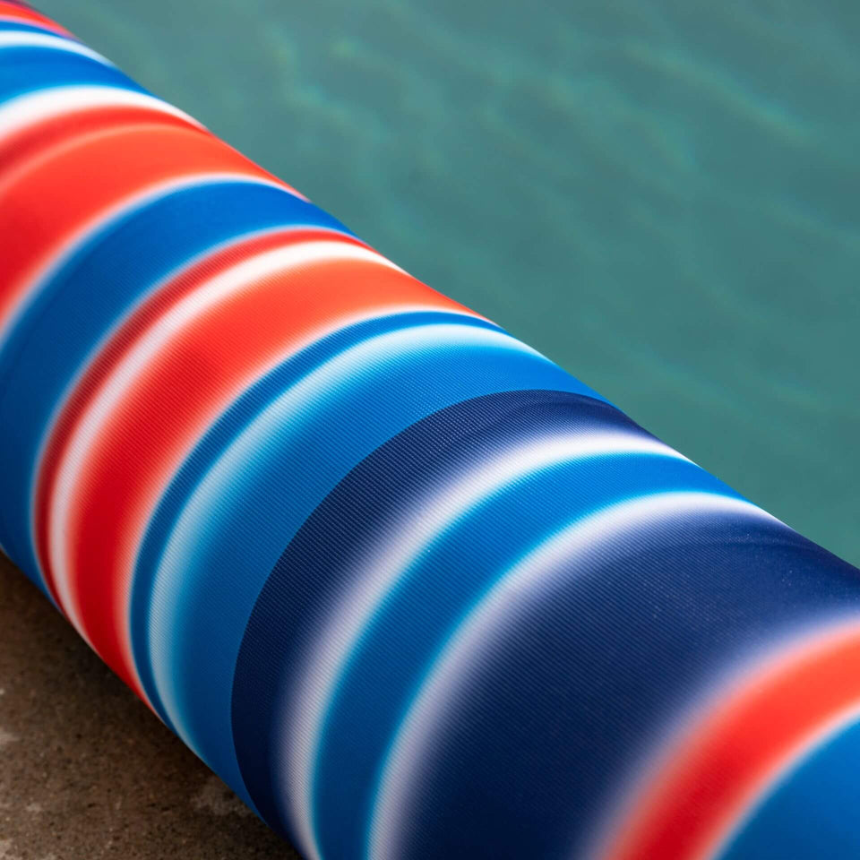 "Blurred Americana 6"" Premium Pool Noodle Fabric Detail 2041759"