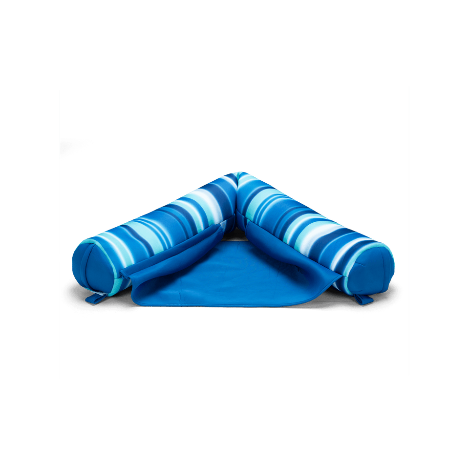 Blurred Blue Noodle Sling Pool Float Front View 2045820
