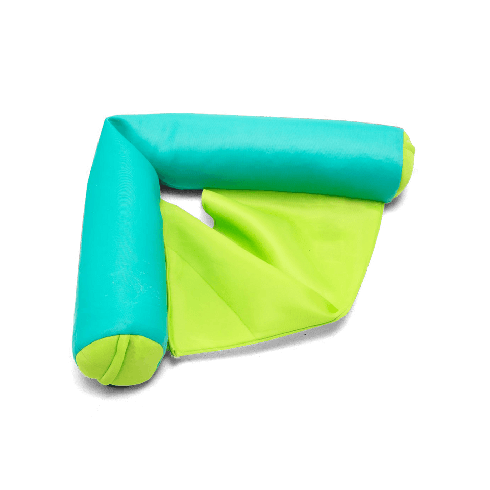 Aqua Green Noodle Sling Pool Float Perspective View 2045853