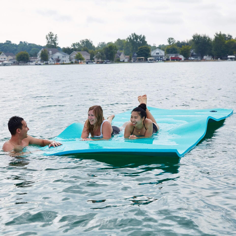 Aqua Waterpad Huge Multi-Person Pool Float with Models 2050ABDS
