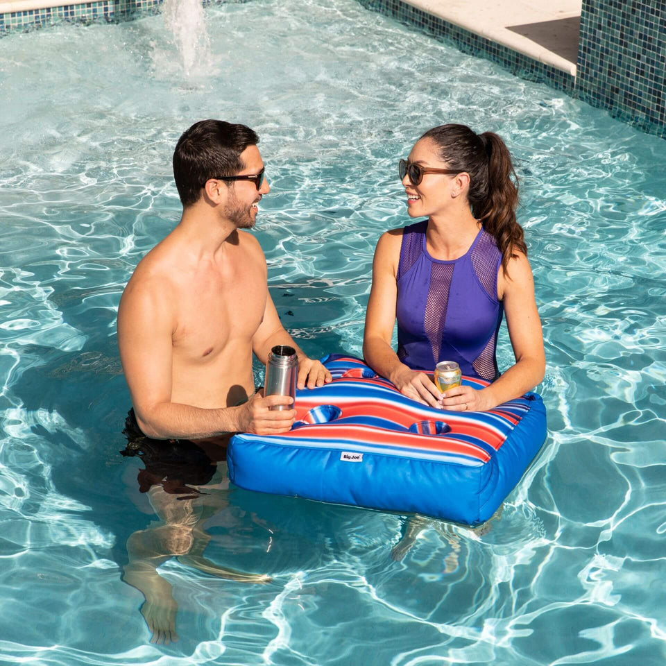 Blurred Americana Captains Caddie Pool Accessory with Model 2186759