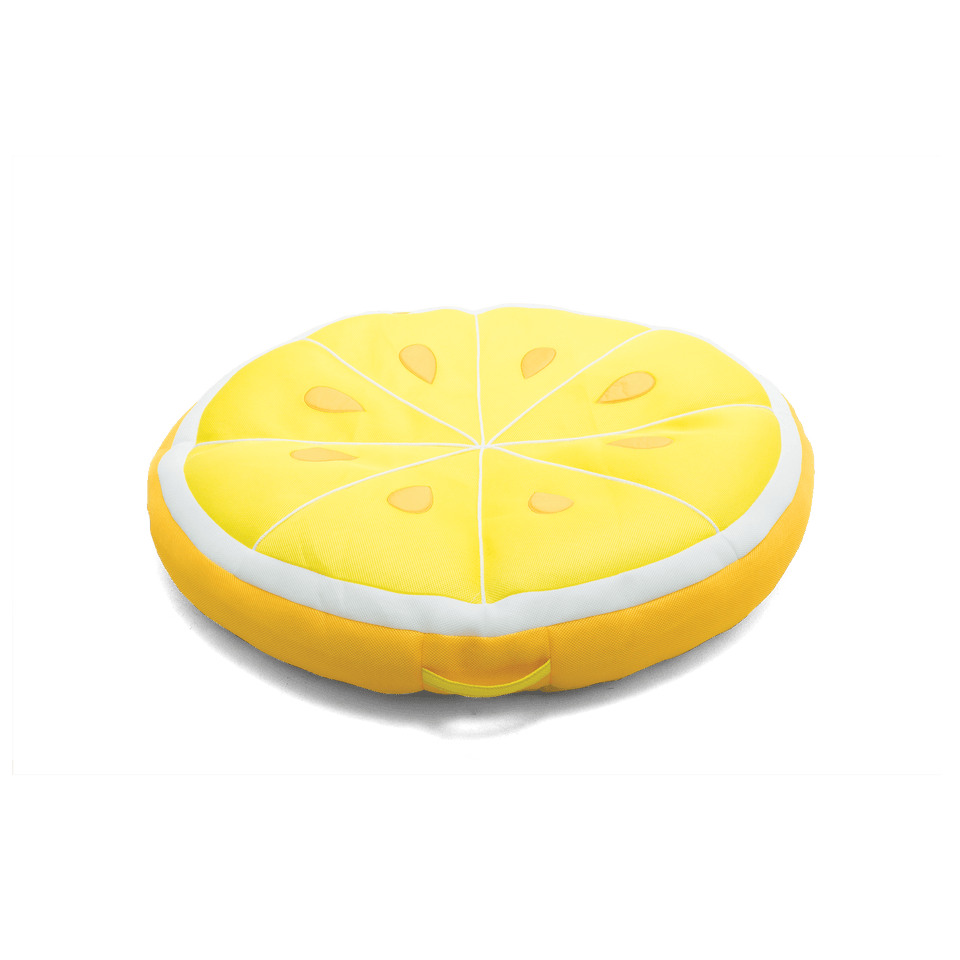 Lemon Fruit Slice Pool Float Front View 2197LEM