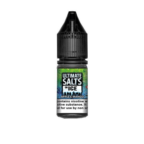 10mg Ultimate Puff Salts On Ice 10ml Flavoured Nic Salts (50VG/50PG) - vapingos