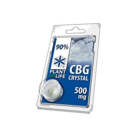 Plant Of Life 500mg CBG Crystal Powder Bulk 90% CBG - vapingos