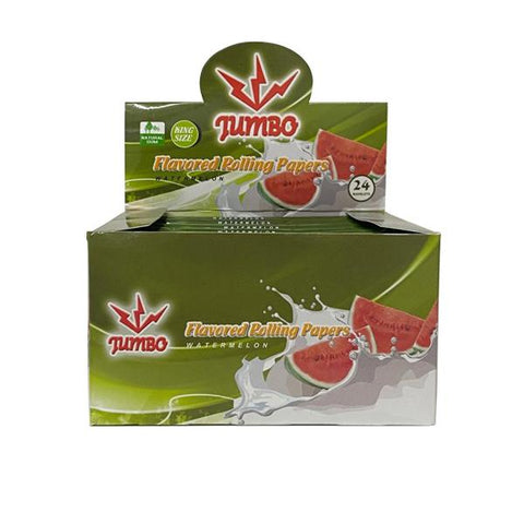 24 Jumbo Flavoured King Size Rolling Papers - vapingos