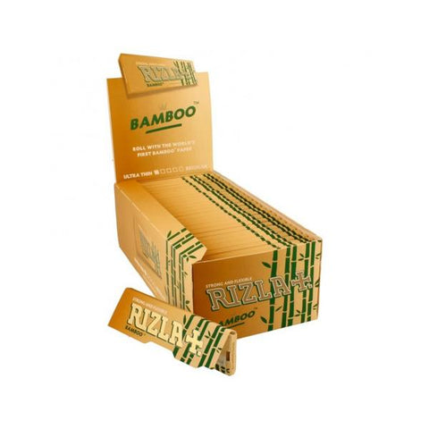 50 Rizla Bamboo King Size Ultra Thin Rolling Papers - vapingos